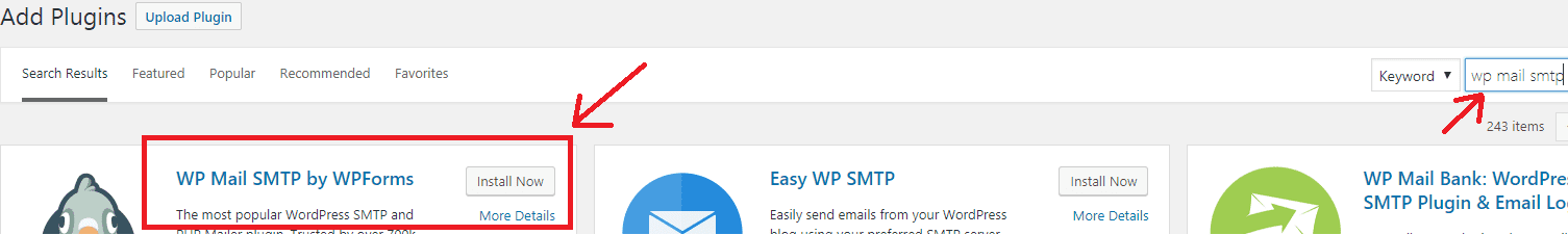 gmail smtp not working