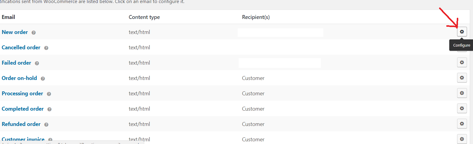 woocommerce order email notification not working