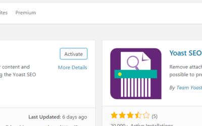 WordPress plugins for seo: How to use Yoast seo plugin
