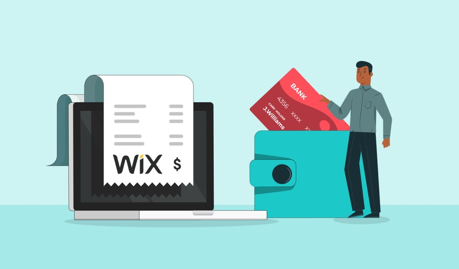 Wix Pricing comparison with wordpress