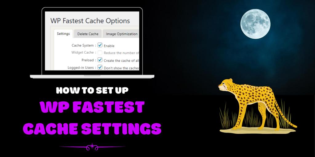 setup wp fastest cache