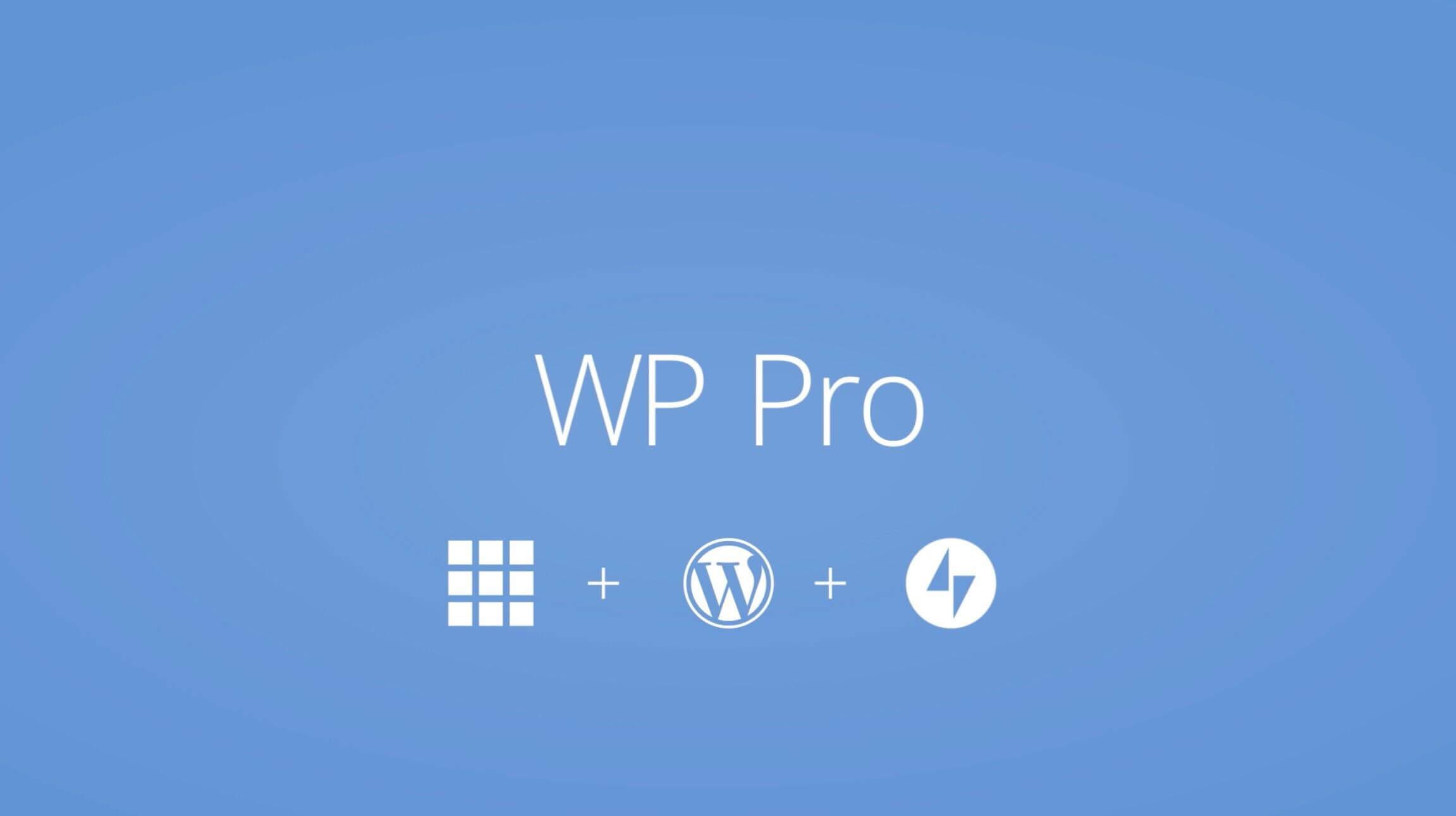 Wp Pro