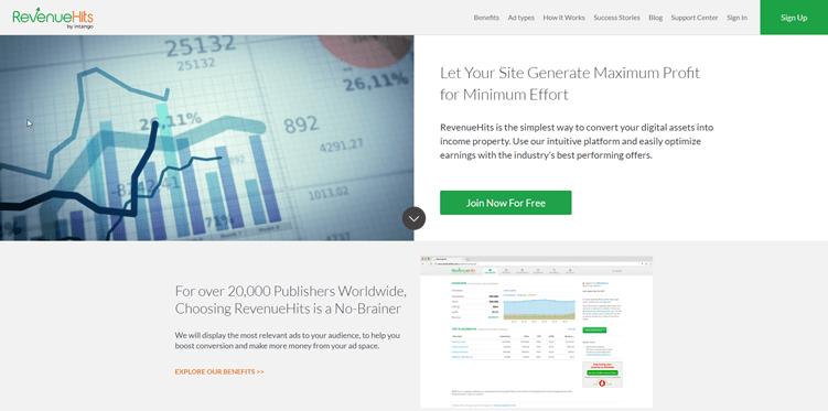 RevenueHits: PPC affiliate programs