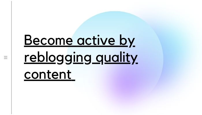 01 - Make your blog pleasant looking and appealing - Tumblr followers-min