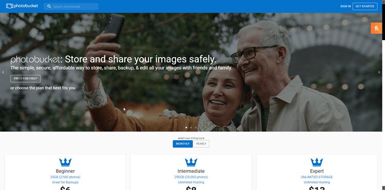 Image Sharing Sites