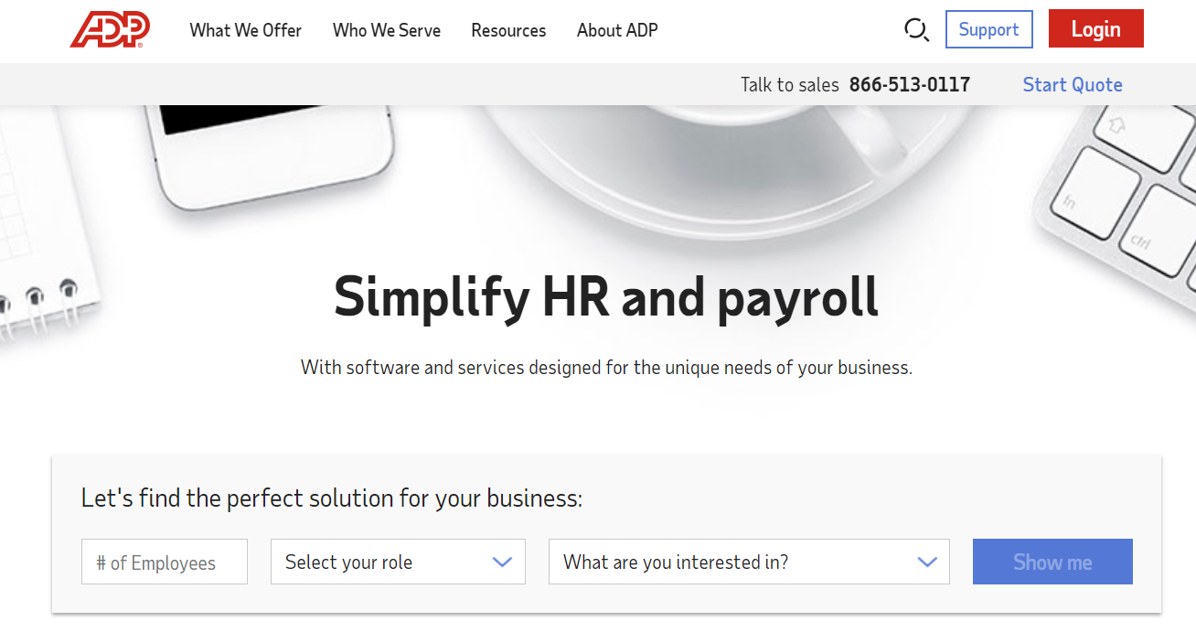 HR outsourcing company