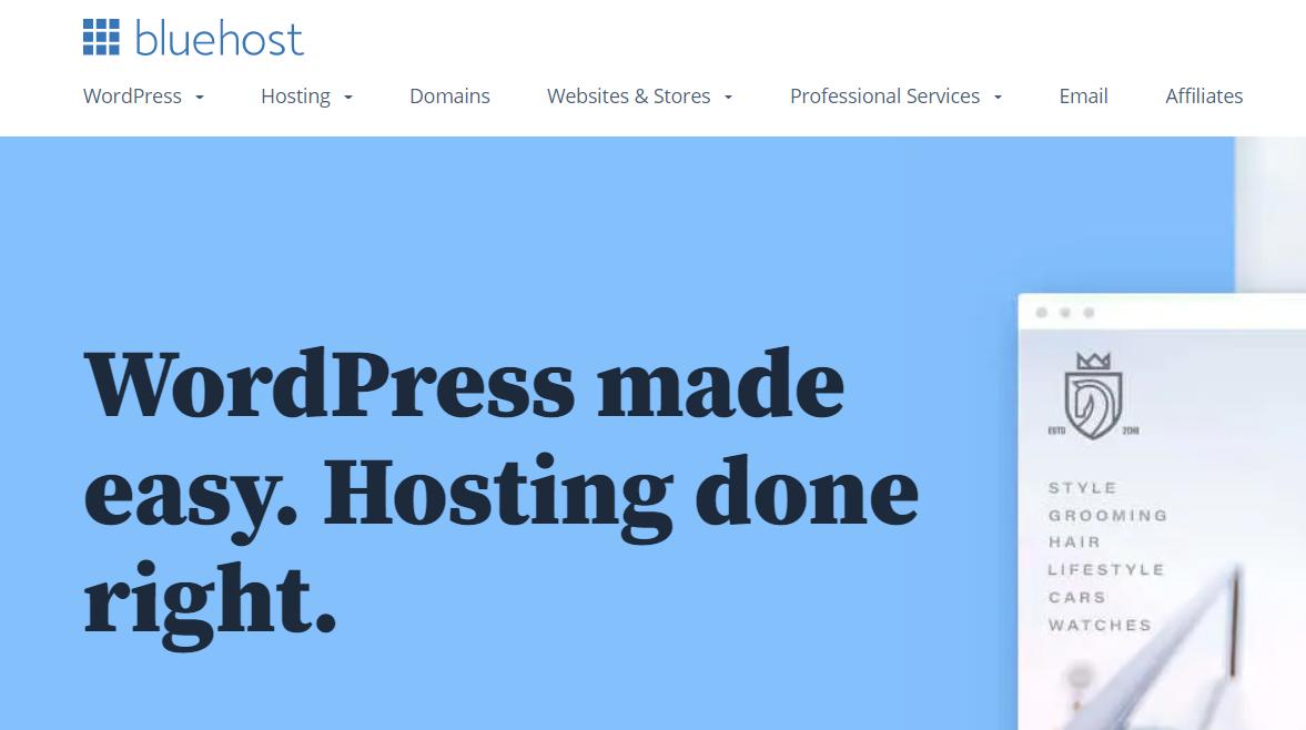best WordPress hosting conversion