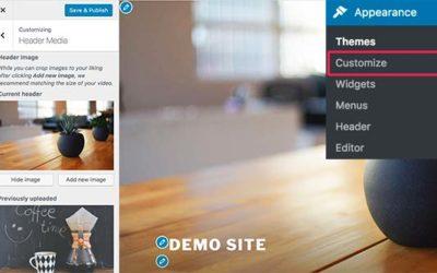 How to Customize WordPress Header